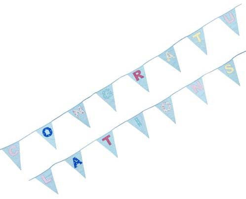 Congratulations Patchwork Bunting