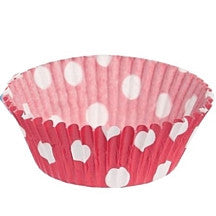 Red and White Spotty Fairy Cake Cases