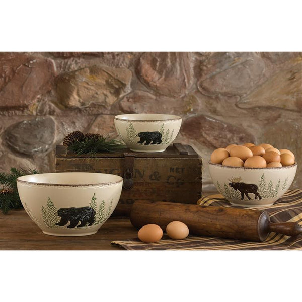 Rustic Retreat Set of Mixing Bowls