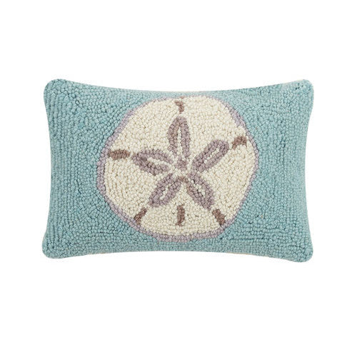 Sand Dollar Hooked Cushion
