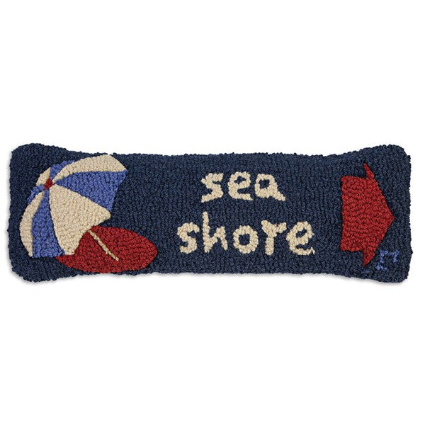 Sea Shore Hooked Cushion