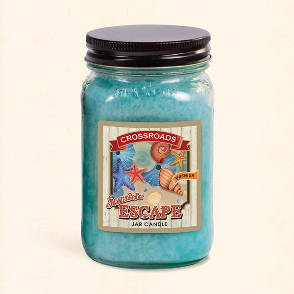 Seaside Escape Mason Jar Candle