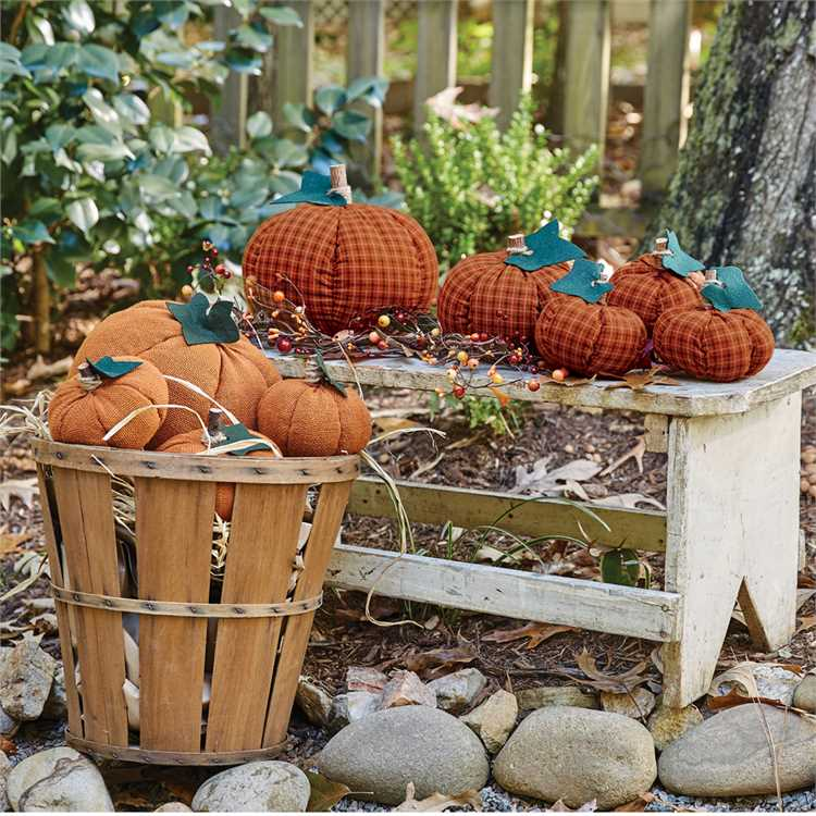 Fabric Pumpkin Collection