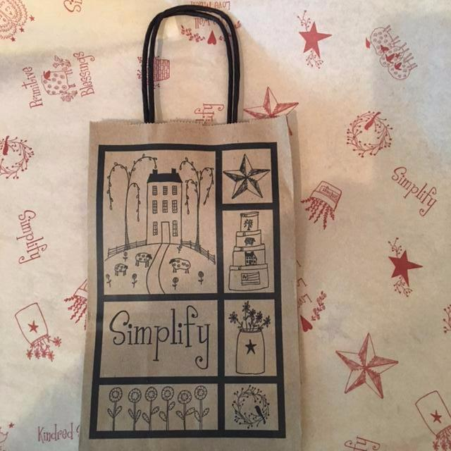 Recycled Shaker Style Gift Bag
