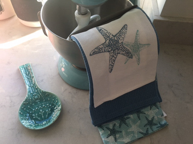 Starfish Tea Towel Set