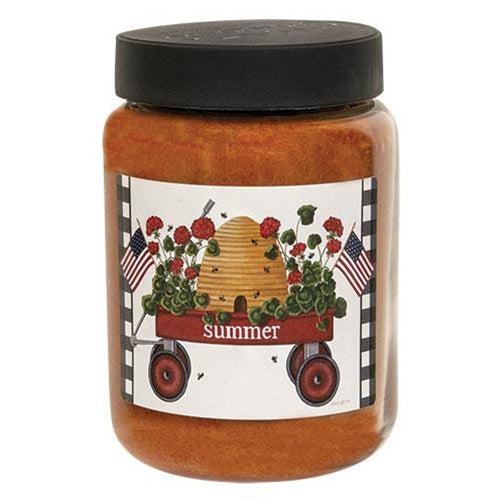 Summer Wagon Buttered Maple Syrup Candle
