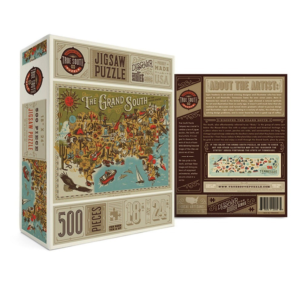 The Grand South Jigsaw Puzzle