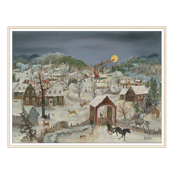 Will Moses Snowflake Christmas Cards Collection UK