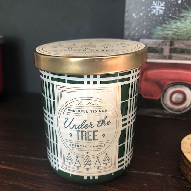 Under the Tree Christmas Candle