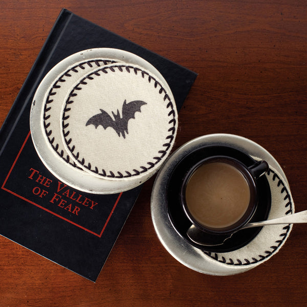 Halloween Bat Coaster Drink Mats UK