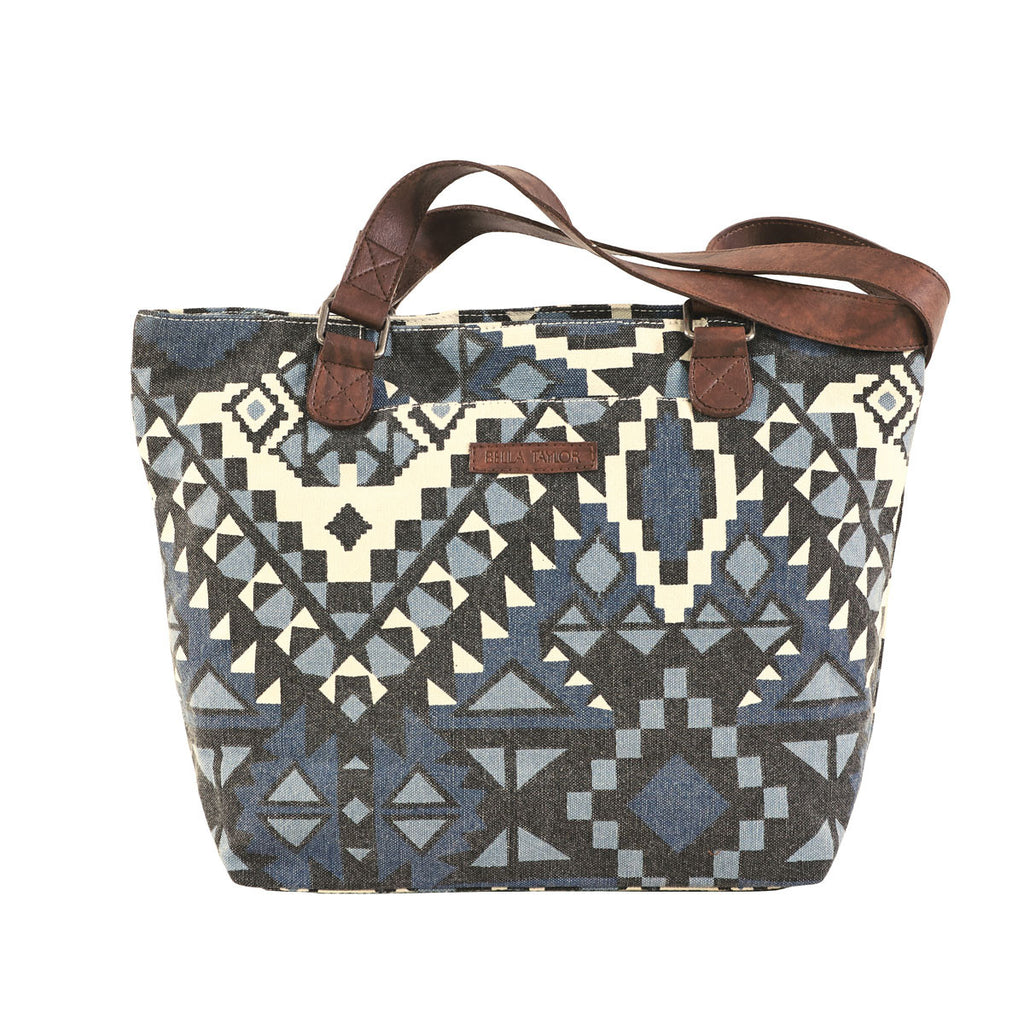Indigo Tribal Shoulder Bag