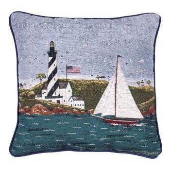 Warren Kimble Coastal Breeze Cushion