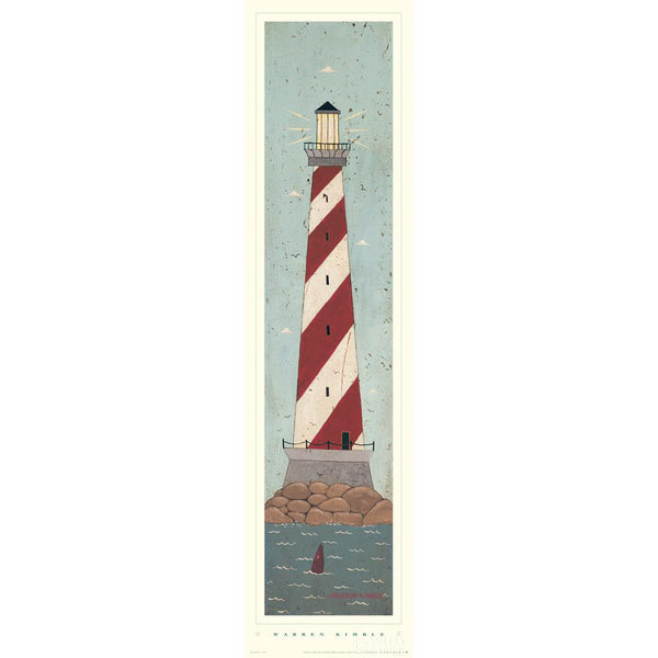 Warren Kimble Nautical I Folk Art Print