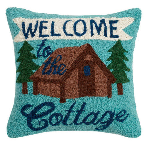 Welcome to the Cottage Hooked Cushion UK