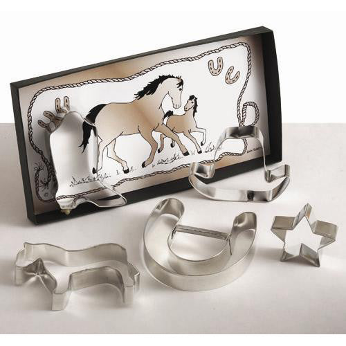 Hold your Horses Large Cookie Cutter Set