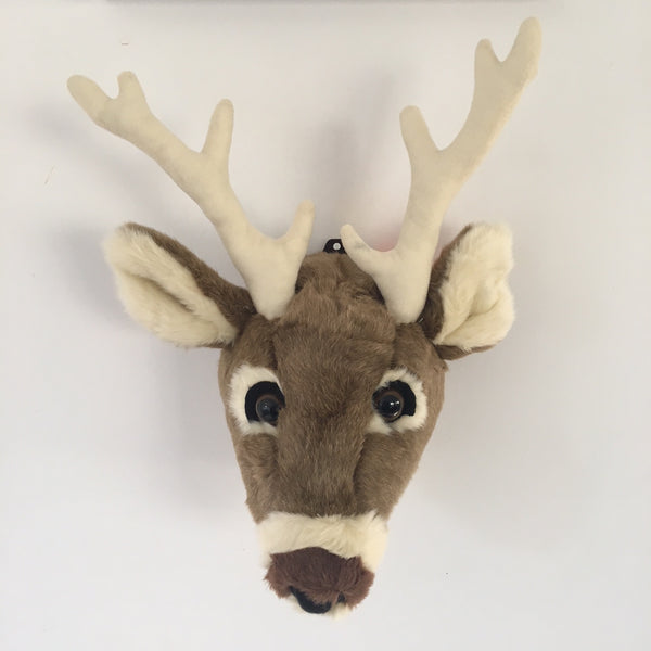 Plush White Tail Deer Head