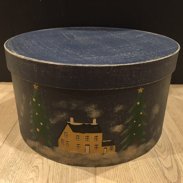White Christmas Shaker Homestead Box