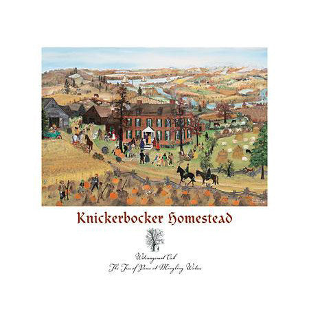 Will Moses Knickerbocker Homestead Print