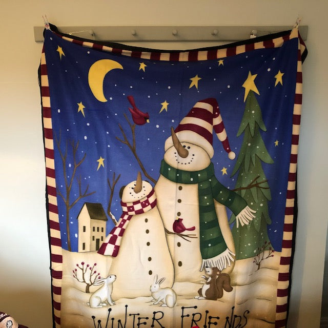 Winter Friends Fleece Blanket