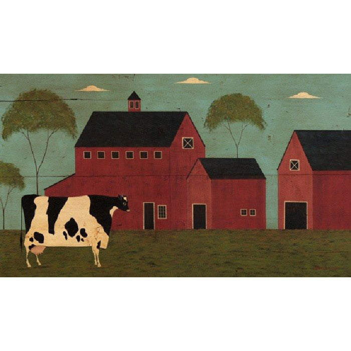 Nellie's Barn Warren Kimble Art Print