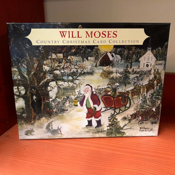Will Moses American Folk Art Christmas Cards UK