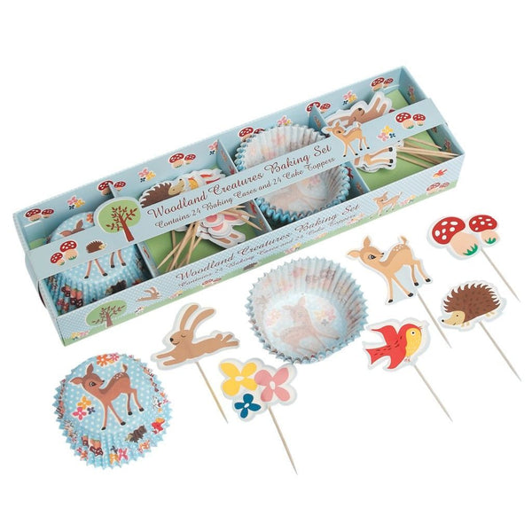Woodland Animals Baking Set