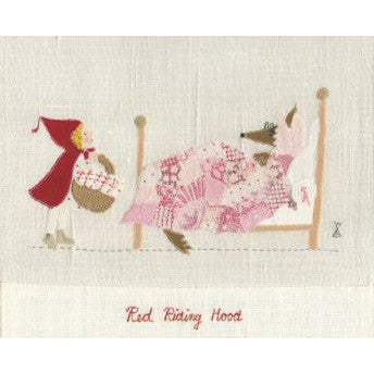 Little Red Riding Hood Mounted Print