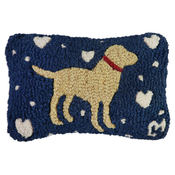 Lab Love Hooked Cushion