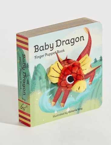 Baby Dragon Puppet Book