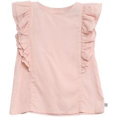Blush Ruffle Linen Top