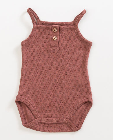 Old Tile Pointelle Bodysuit