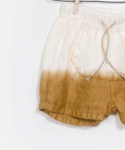Dip Dyed Tie Shorts