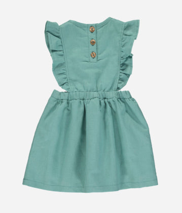 Betsy Dress - Juniper Linen