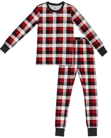 Mama Christmas Plaid PJ Set