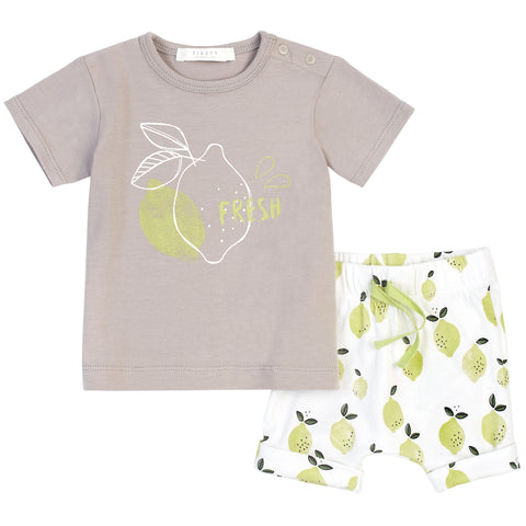 Lime Short Set