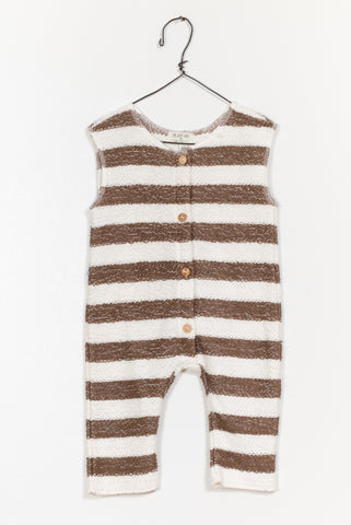 Saddle Stripe Jumpsuit