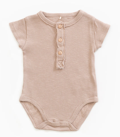 Jute Ribbed Bodysuit