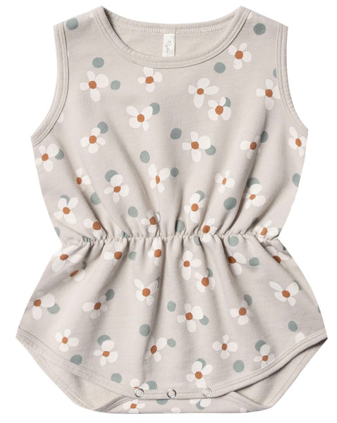 Dotty Flowers Playsuit