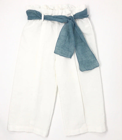 Peacock Bow Flare Pants