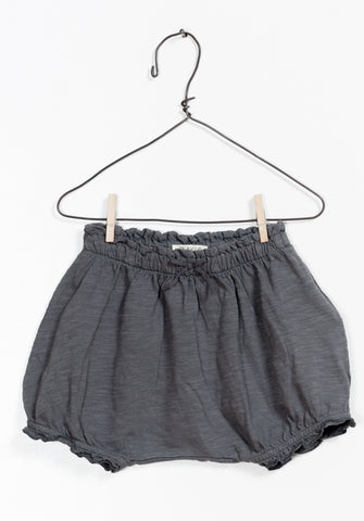 Charcoal Frill Shorties