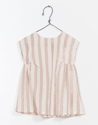 Taupe Stripe Tunic Dress