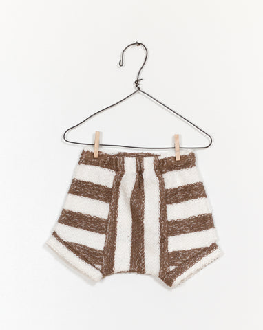 Saddle Stripe Shorties