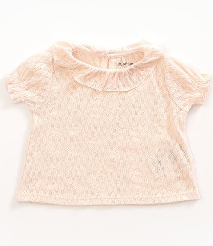 Seashell Pointelle Top