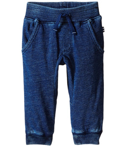 Double Knit Indigo Jogger