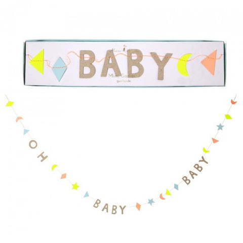 OH BABY BABY Mini Garland