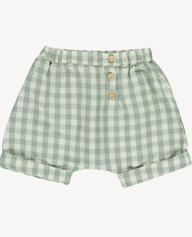 Short Trouser - Pistachio Gingham