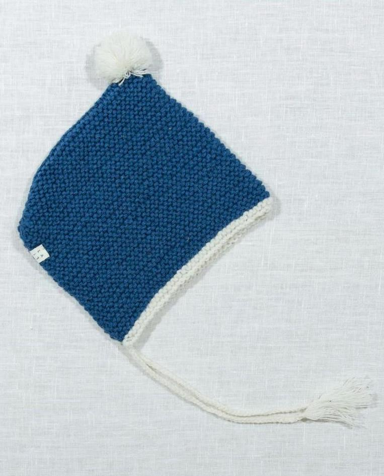 Baby Knit Hat - Blue
