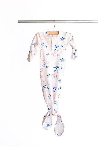 Knotted Gown - Dainty Floral