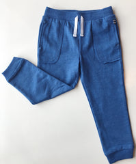 Vertical Blue Striped Set with Blue Joggers