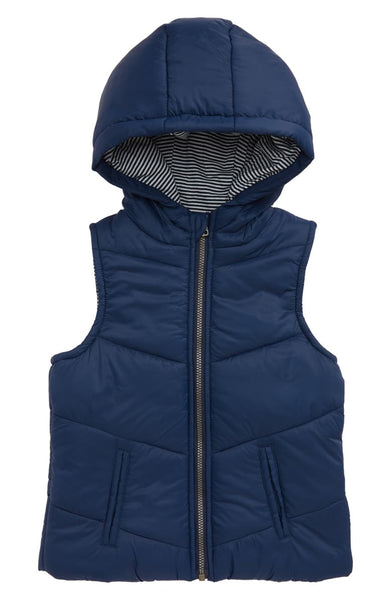 Indigo Hooded Vest